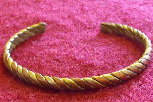 Bracelet en métal 3 couleurs
