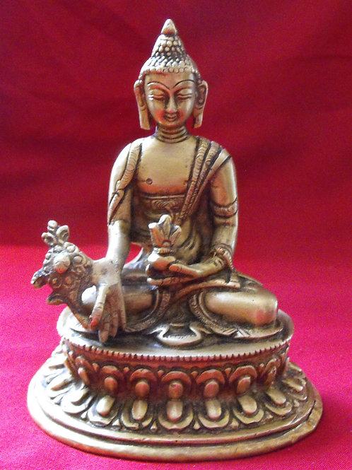 Statuette de  Bouddha de la medecine 12 cm