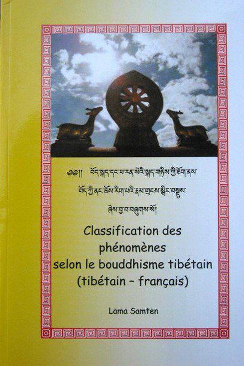 Classification des phénomènes