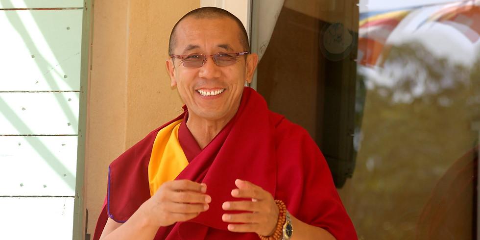 5 days Meditation Retreat & Teachings on Calm-abiding with Lama Samten