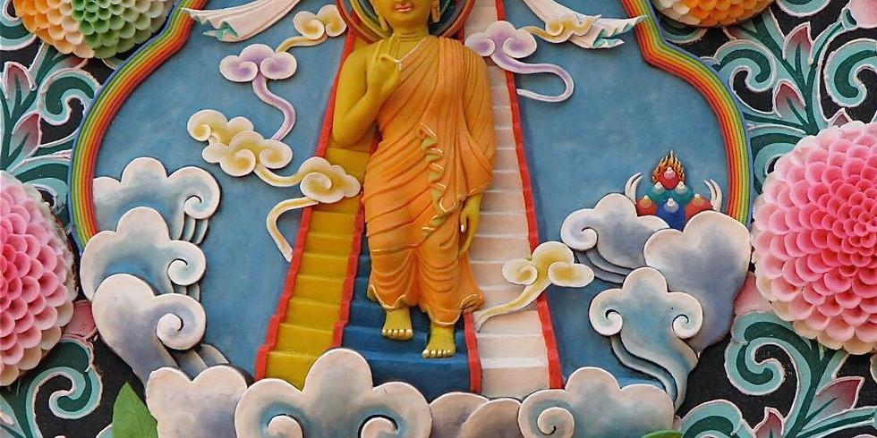Journée de l'arrivée du Bouddha Shakyamouni dans le monde - célébration spéciale