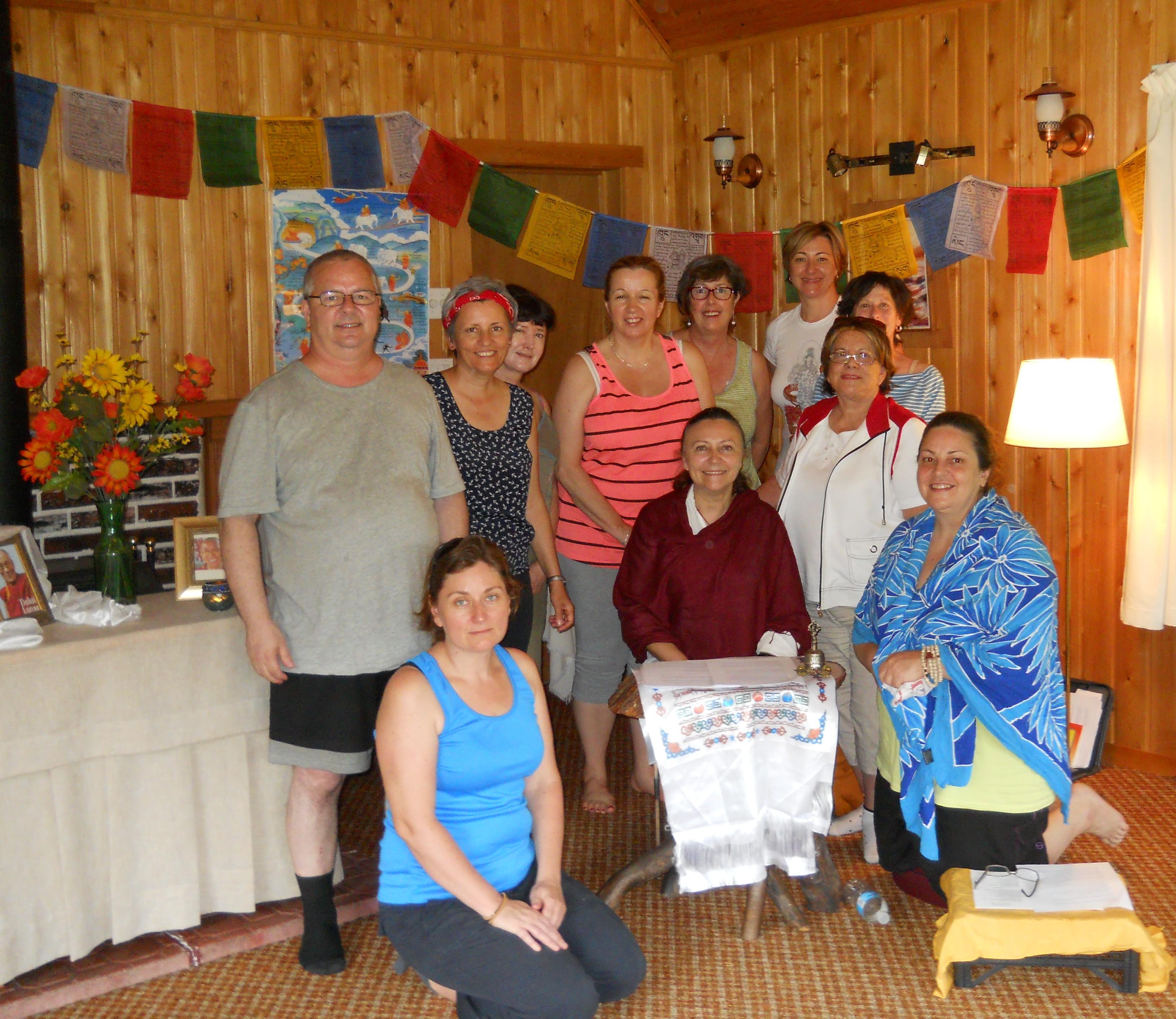Retraite de méditation à Champboisé