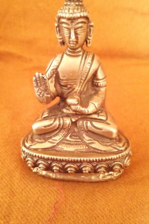 Statuette du Bouddha Amoghasiddhi 10 cm