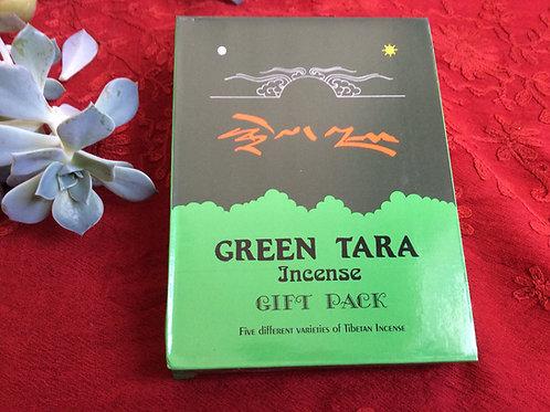 Encens variés(5) en boite cadeau