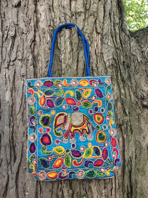 sac bleu de style indien