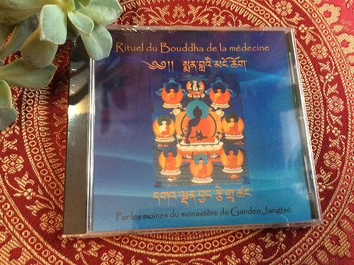 Medecine Buddha ritual chanting by Gaden Jangtse Monks CD