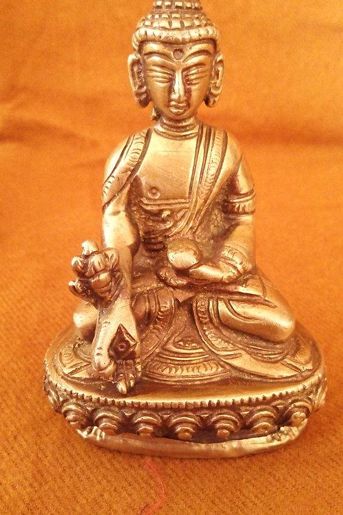 Statuette Bouddha de la médecine Menla 10 cm