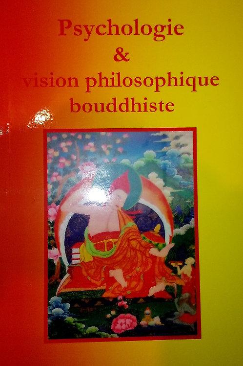 Psychologie et vision philosophique bouddhiste