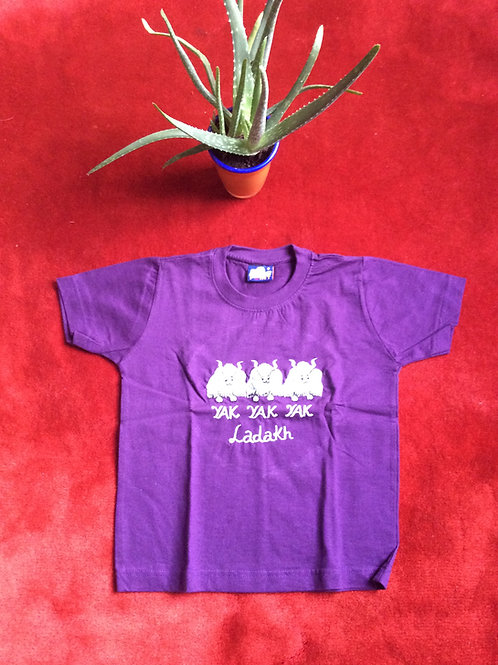 T-shirt for kids (6yrs)  in cotton