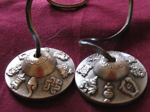 Thingsha «8 signes auspicieux» (mini-cymbales)