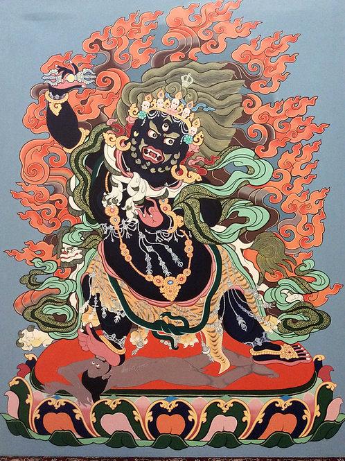 Buddha Vajrapani painting