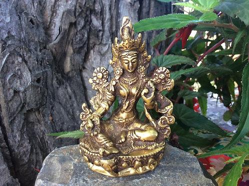 Statue Green Tara Buddha