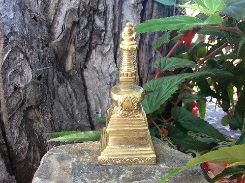 Stupa in brass