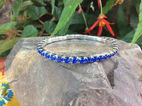 Bracelet (set of 3 ) Bollywood style gemsparkle in 3 colors
