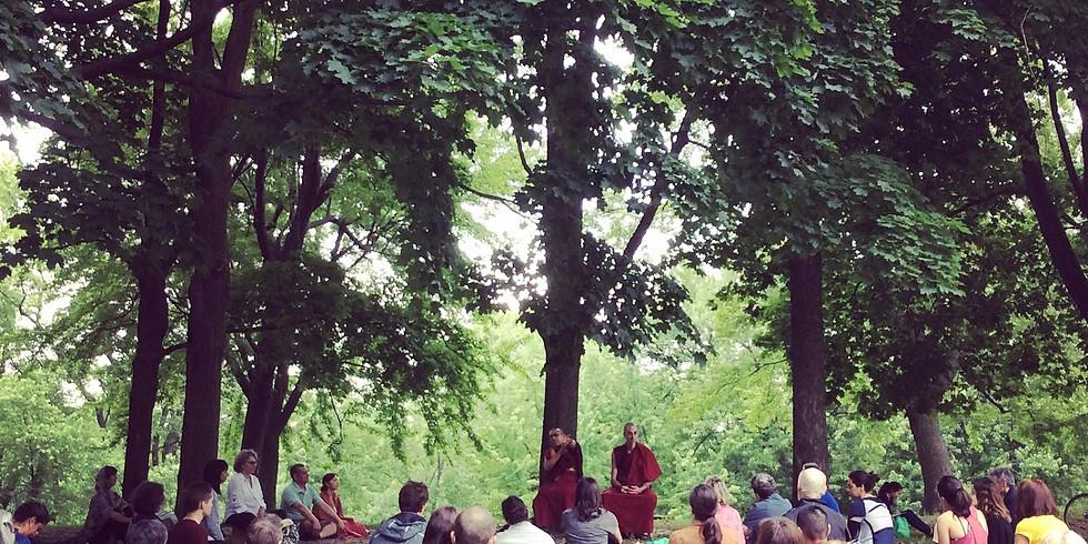 Méditation en groupe