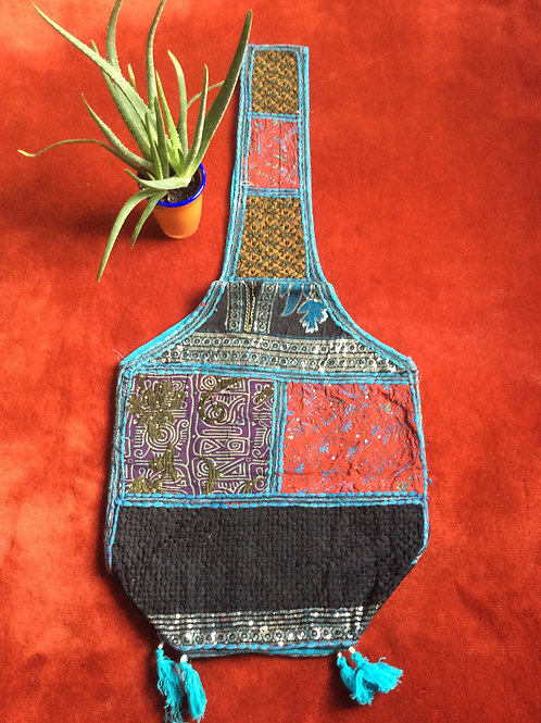 Bag from India #1 multicolored with shoulder strap