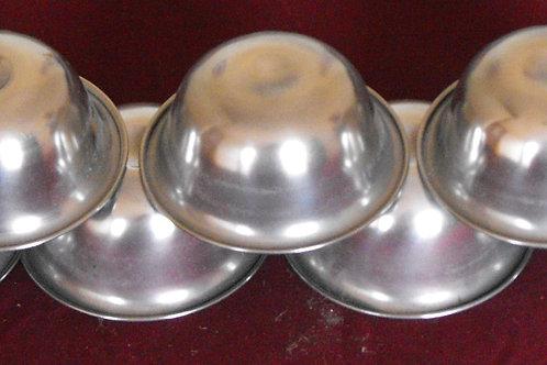 Bols(7) d'offrande en acier (petit)