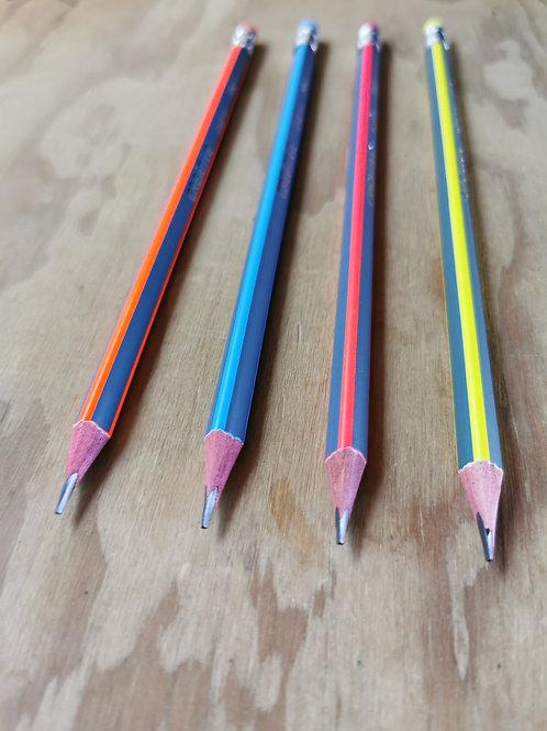 Set 4 lápices HB2