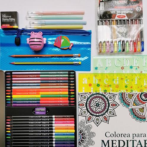 Caja 36 colores