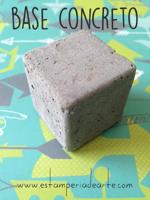 base concreto gris