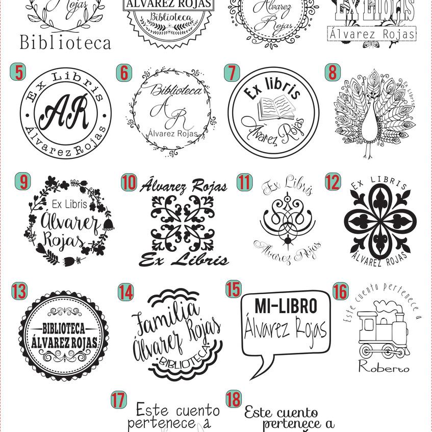 diseños_exlibris