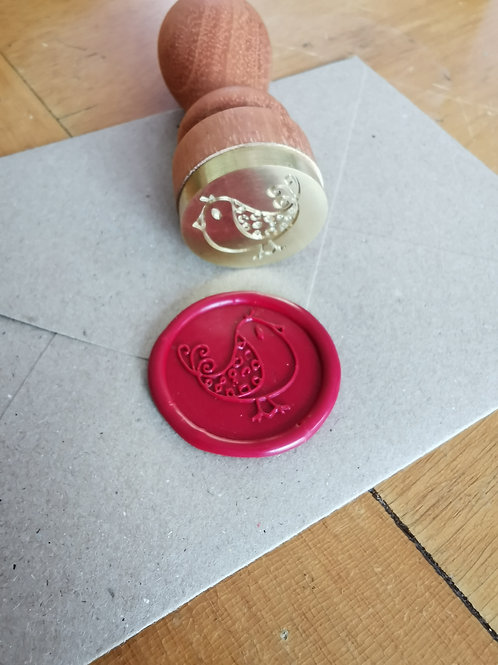 Sello de metal personalizado para lacre 3.2cm