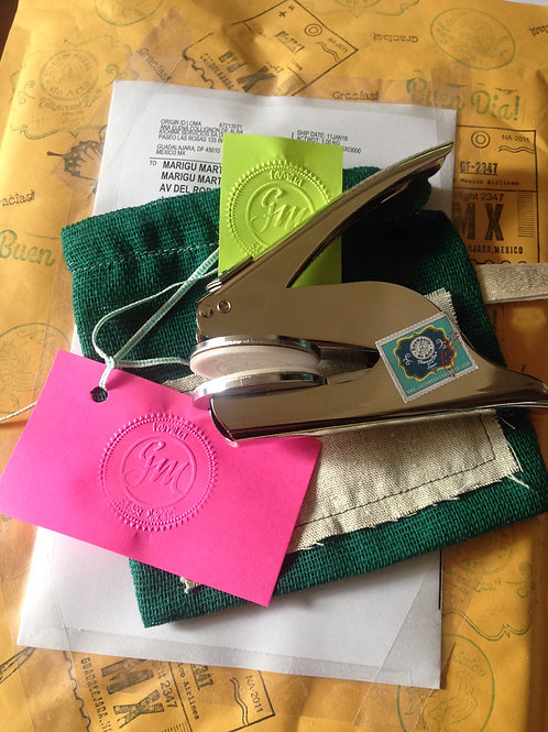 Realzadora personalizada para papel, portátil