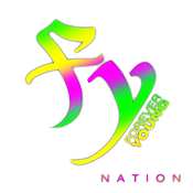 Forever Young Nation (Transparent) (neon
