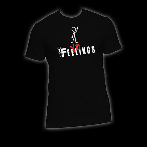 "Black FYF (Red ""Yo"") T-Shirt"