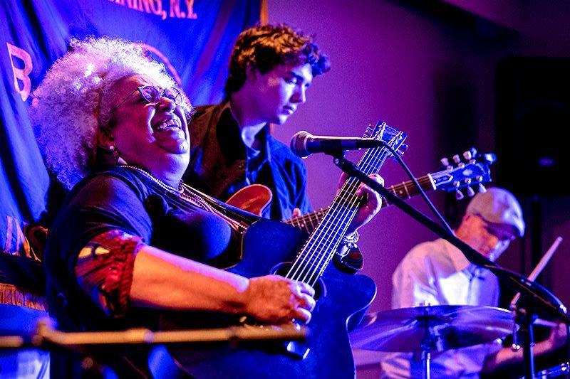 KJ Denhert at the Women in Jazz Festival