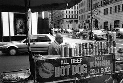 Immigré grec, 5e avenue, New York
