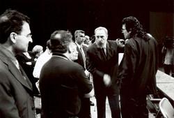 Fidel Castro reçoit des cinéastes