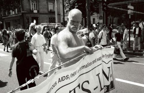 Manifestation contre le sida