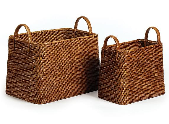Set/2 Rattan Baskets