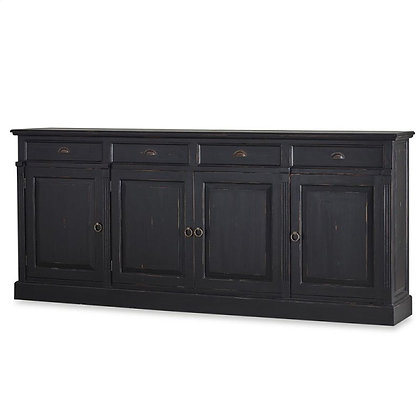 Black Rustic Sideboard