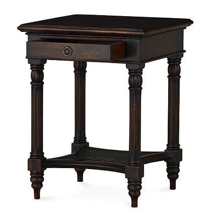 Chestnut Square Side Table