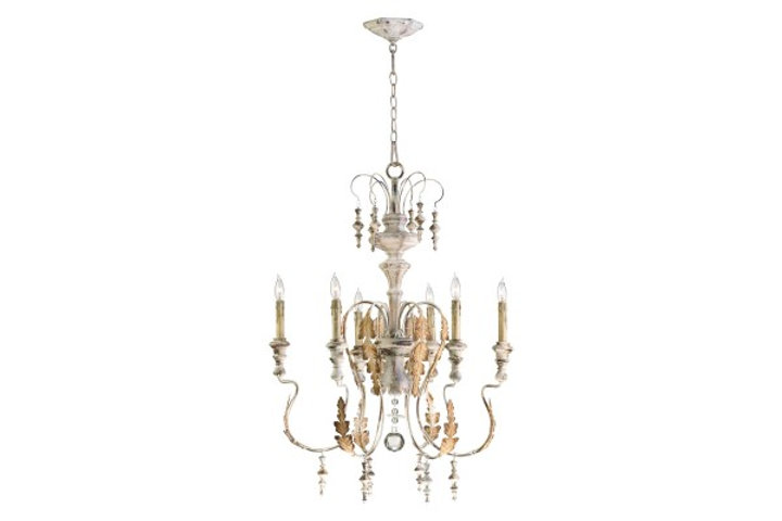 French Inspired Iron Chandelier 6 Light Html Winterberry