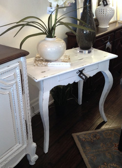 RECLAIMED WOOD OCCASIONAL TABLE