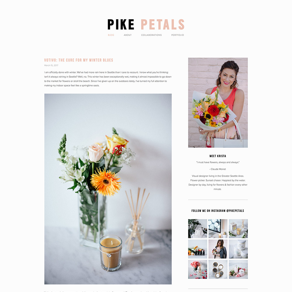Pikepetals Blog
