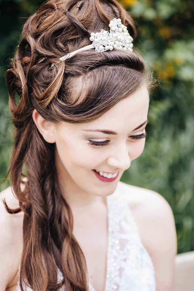 Scrabo Tower Wedding Hair