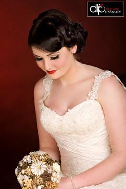 Vintage Bridal Make-up Lisburn