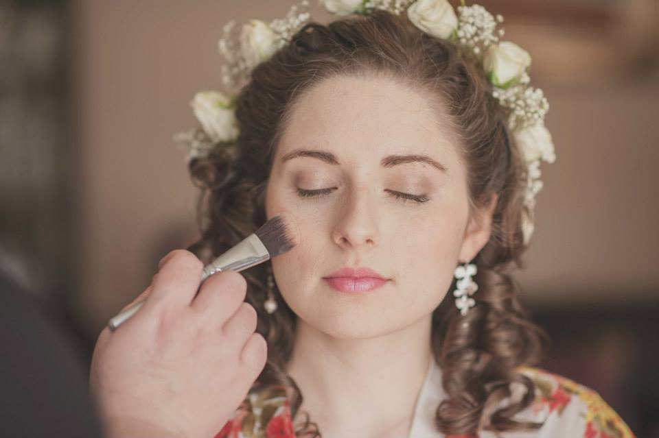 Natural Wedding Makeup Co Down
