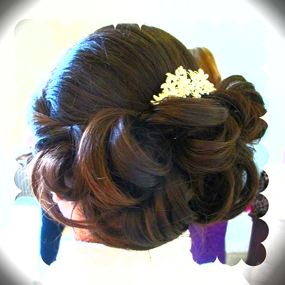 Bridesmaid hair lough Erne