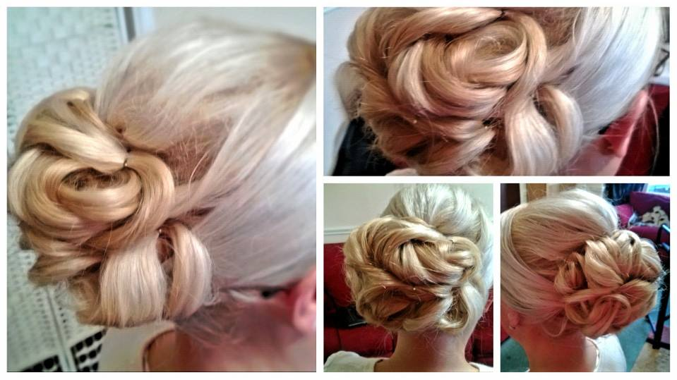 Detailed Wedding Hair Bun