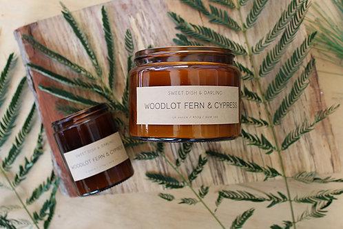 Woodlot Fern & Cypress | Wood Wick Candle