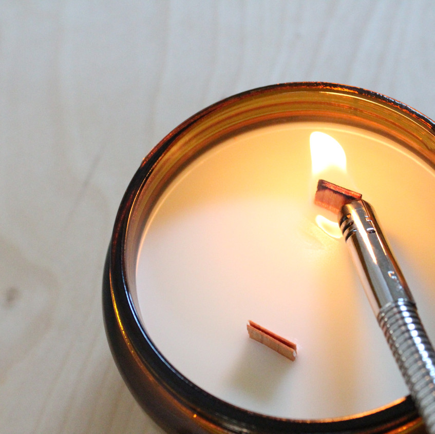Brand new candles are much easier to ignite because their wood is fresh and full of accessible  fuel.