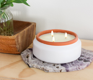 Best Three Wick Terracotta Candle