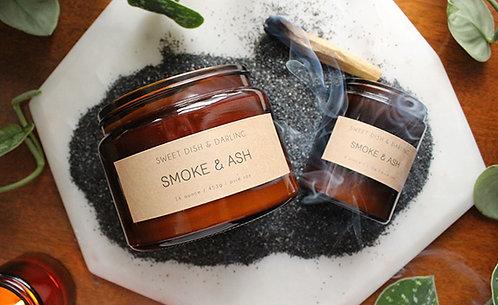 Smoke & Ash | Wood Wick Candle