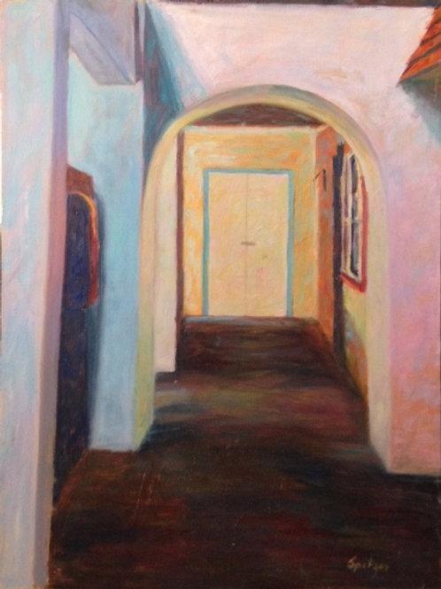 Corridor in Nevis