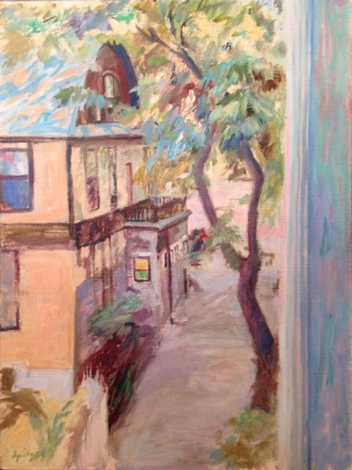 Rogers Park Alley (framed)